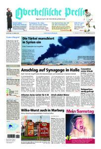 Oberhessische Presse Marburg/Ostkreis - 10. Oktober 2019