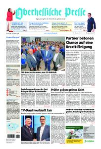 Oberhessische Presse Marburg/Ostkreis - 18. Oktober 2018