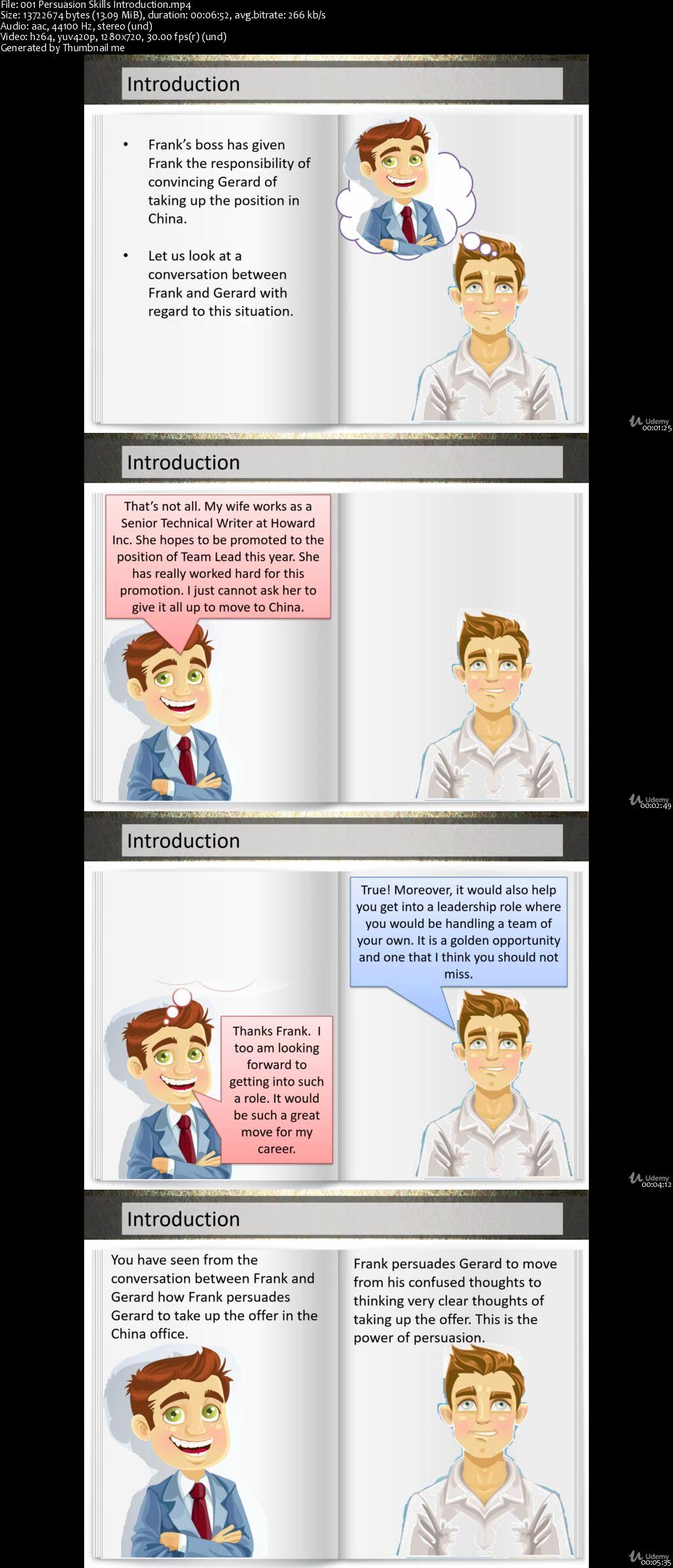 Persuasion Skills - Basics