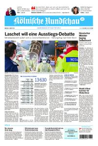 Kölnische Rundschau Wipperfürth/Lindlar – 30. März 2020