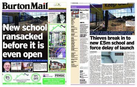 Burton Mail – August 22, 2018