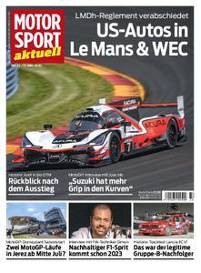 Motorsport Aktuell – 12. Mai 2020
