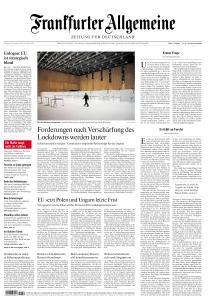 Frankfurter Allgemeine Zeitung - 8 Dezember 2020