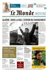 Le Monde du Samedi 2 Mars 2019