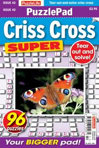 PuzzleLife PuzzlePad Criss Cross Super – 12 August 2021