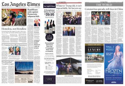 Los Angeles Times – January 22, 2020