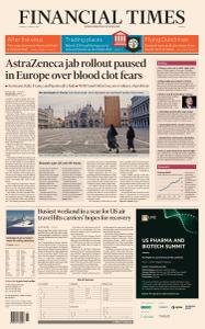 Financial Times Europe - March 16, 2021