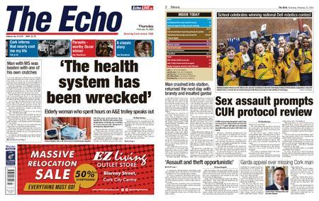 Evening Echo – February 13, 2020