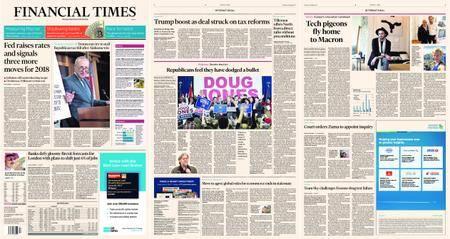 Financial Times Europe – 14 December 2017