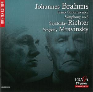 Svyatoslav Richter, Evgeny Mravinsky - Brahms: Piano Concerto No.2 & Symphony No.3 (2013)