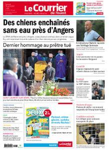 Le Courrier de l'Ouest Angers – 14 août 2021