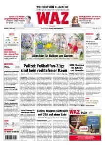 WAZ Westdeutsche Allgemeine Zeitung Oberhausen-Sterkrade - 17. April 2018