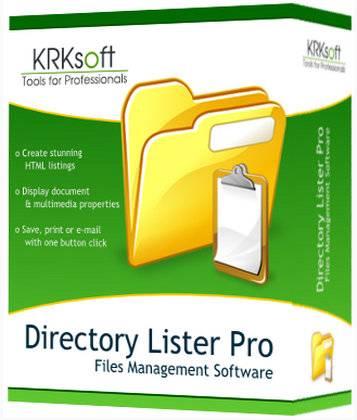 Directory Lister Pro 2.34 (x64) Enterprise Multilingual + Portable