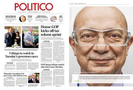 Politico – November 07, 2017