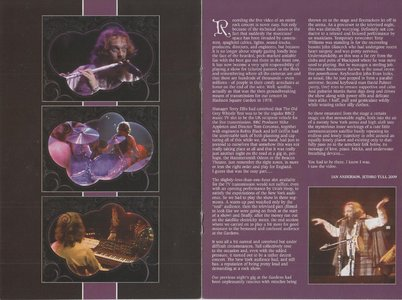 Jethro Tull Live At Madison Square Garden 1978 2009 Cd Dvd Chrysalis Avaxhome