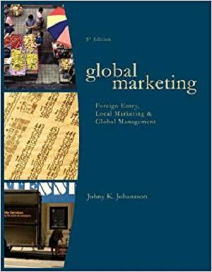 Global Marketing: Foreign Entry, Local Marketing, and Global Management [Repost]