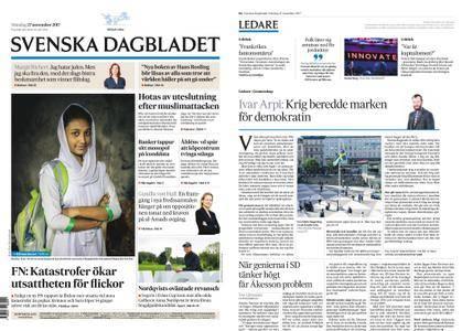 Svenska Dagbladet – 27 november 2017