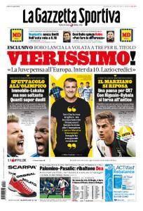 La Gazzetta dello Sport Roma – 16 febbraio 2020