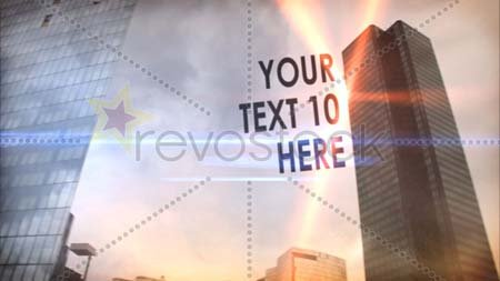 Revostock Metropolis - After Effects Project
