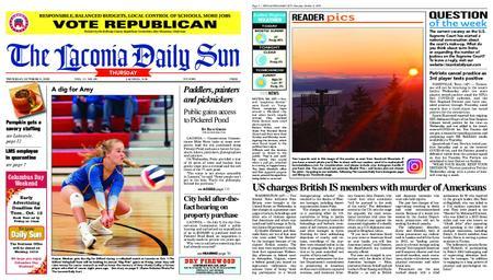 The Laconia Daily Sun – October 08, 2020