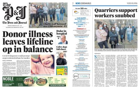 The Press and Journal Moray – February 18, 2021