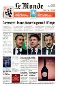 Le Monde du Samedi 2 Juin 2018