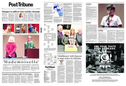 Post-Tribune – March 12, 2020