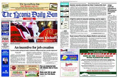 The Laconia Daily Sun – November 28, 2017