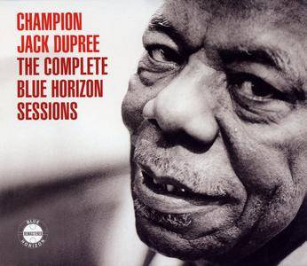 Champion Jack Dupree - The Complete Blue Horizon Sessions (2005) 2CDs