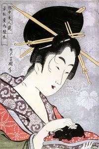 Ukiyo-e painters: The Art of Chokosai Eisho