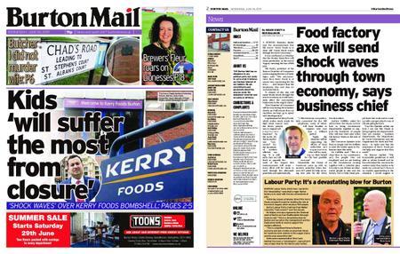 Burton Mail – June 26, 2019