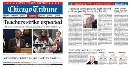Chicago Tribune Evening Edition – October 16, 2019