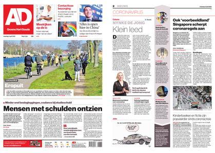 Algemeen Dagblad - Gouda – 06 april 2020