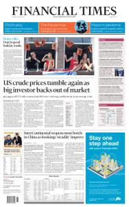 Financial Times Middle East - April 28, 2020
