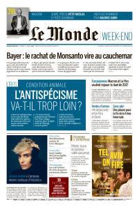 Le Monde du Samedi 30 Mars 2019