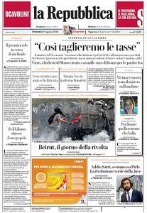 la Repubblica - 9 Agosto 2020