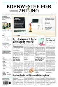 Kornwestheimer Zeitung - 09. September 2017