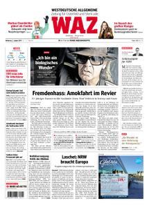 WAZ Westdeutsche Allgemeine Zeitung Oberhausen-Sterkrade - 02. Januar 2019