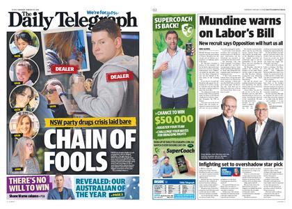 The Daily Telegraph (Sydney) – January 24, 2019