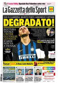 La Gazzetta dello Sport Roma – 14 febbraio 2019