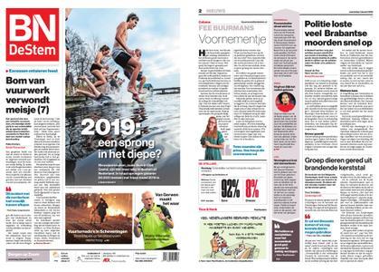 BN DeStem - Bergen op Zoom – 02 januari 2019
