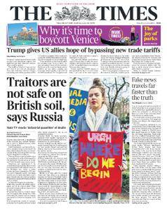 The Times - 9 March 2018