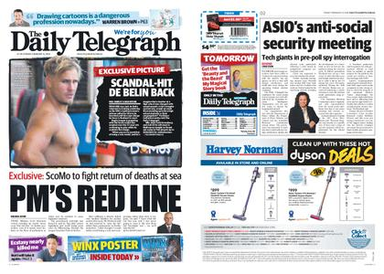 The Daily Telegraph (Sydney) – February 15, 2019