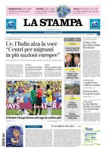 La Stampa Torino Provincia e Canavese - 29 Giugno 2018