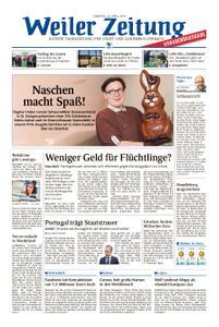 Weiler Zeitung - 20. April 2019