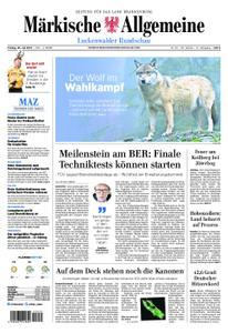 Märkische Allgemeine Luckenwalder Rundschau - 26. Juli 2019