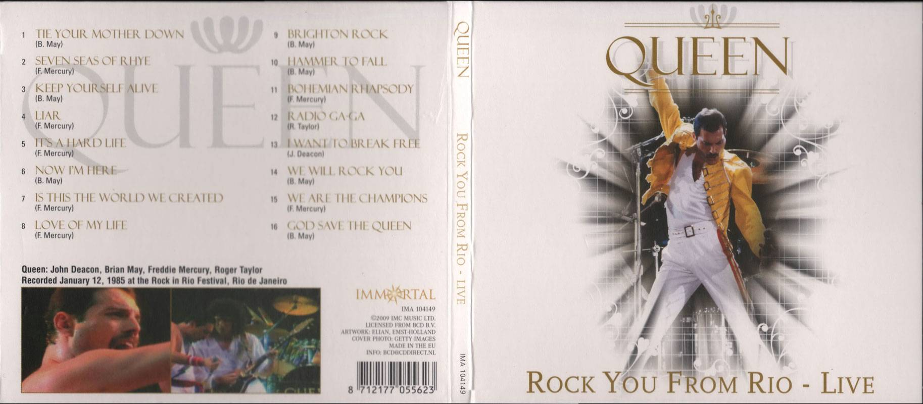 Queen - Rock You From Rio - Live (2009) / AvaxHome