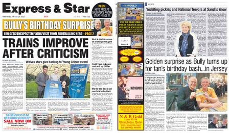 Express and Star City Edition – January 29, 2020