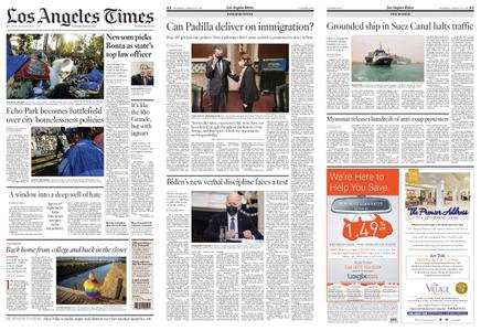 Los Angeles Times – March 25, 2021