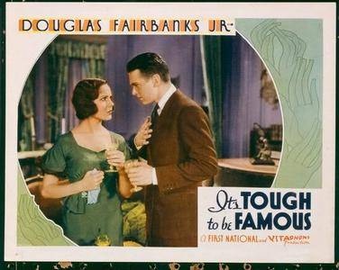 It's Tough to Be Famous (1932)